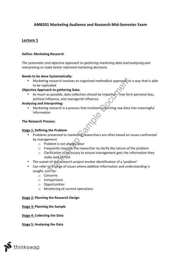 AMB201 Midsemester Exam Revision Notes with Key Concepts to Study