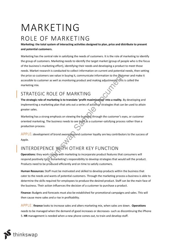 case study on marketing strategy of apple