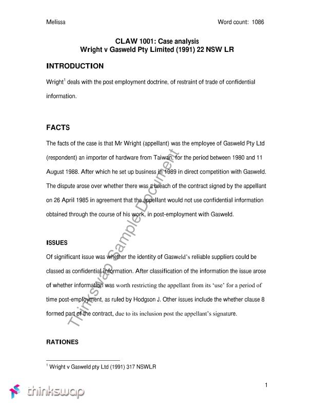 Best Case Analysis Gallery - Guide to the Perfect Resume ...