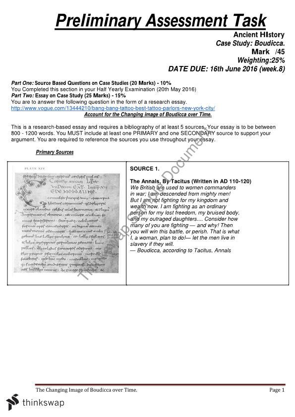 how to write a history 8 mark essay