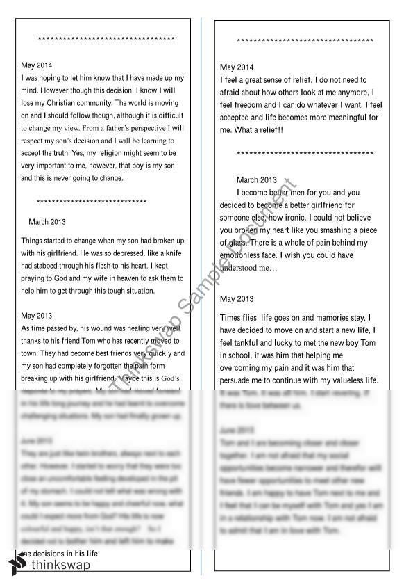 admission essay sample college informative