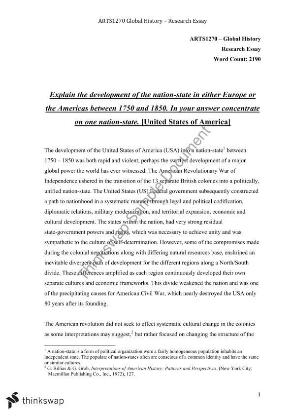 state of the nation essay Nation-building essay nation-building refers to the general process of constructing a nation making use of the power and institutions of the state or the political community (polity) as an ideology and social mobilization, nationalism has often been attributed to earlier phases in the process of evolution of contemporary nation-states.