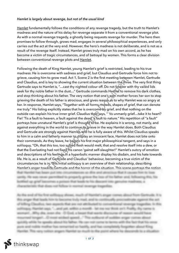 an analysis of a tinge of hamlet in his feelings wants worries and proudly Hamlet commentary - act ii study guides hamlet this line convincing polonius that hamlet must be mad and indicating again that hamlet wants to commit suicide (the first suggestion of this was in act i not feeling trapped at all).