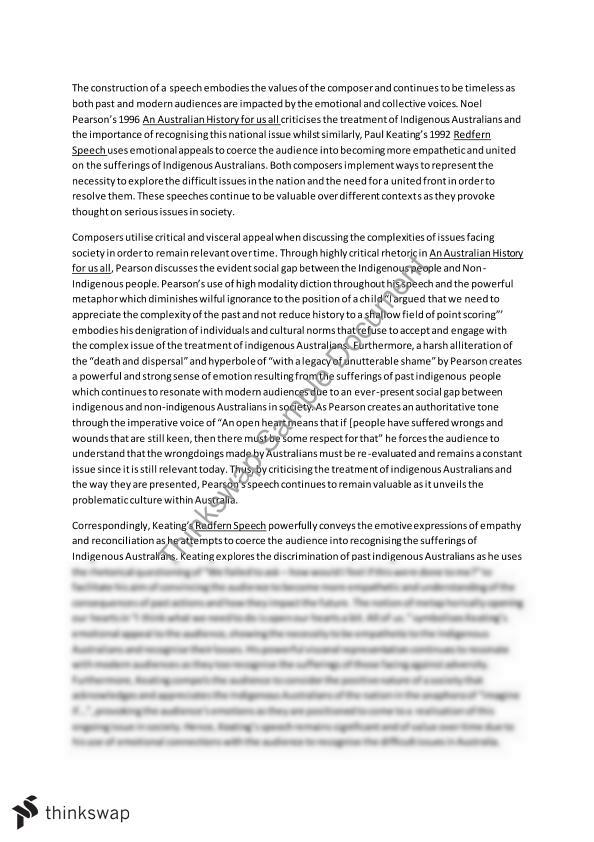 module b pearson and keating essay year hsc english module b pearson and keating essay