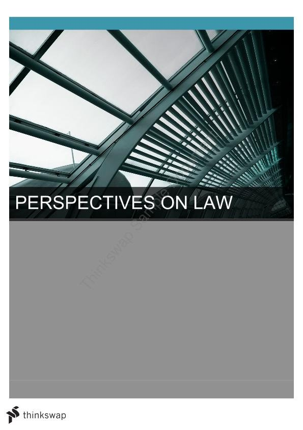 Perspectives on Law