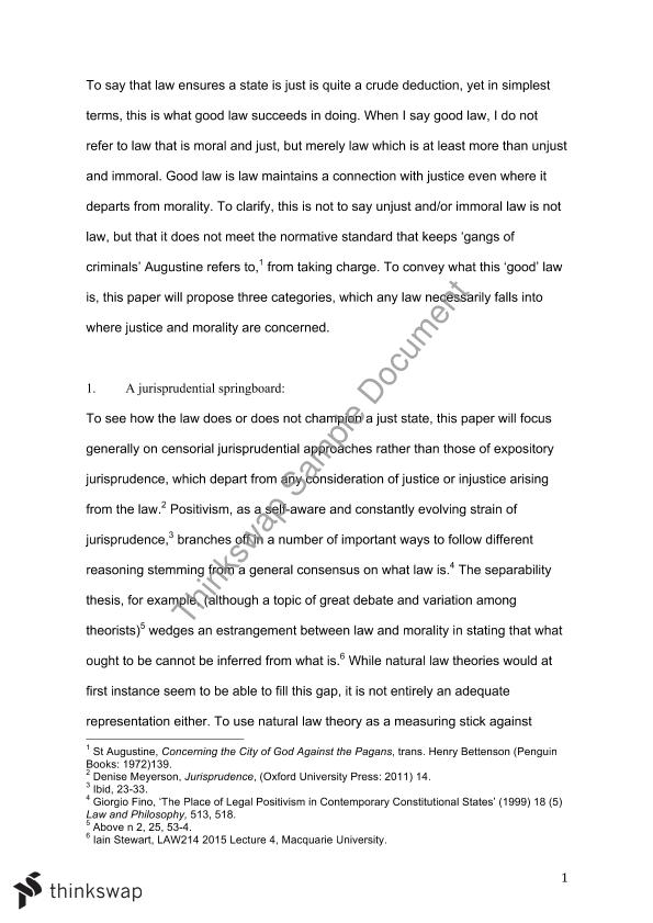 Public Health Essay Jusiprudence Assignment  Essay English Essay Introduction Example also English Learning Essay Jusiprudence Assignment  Essay  Law  Jurisprudence  Thinkswap Interview Essay Paper