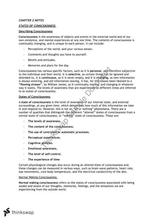 Unit 3 and 4 Psychology   Year 12 VCE - Psychology   Thinkswap