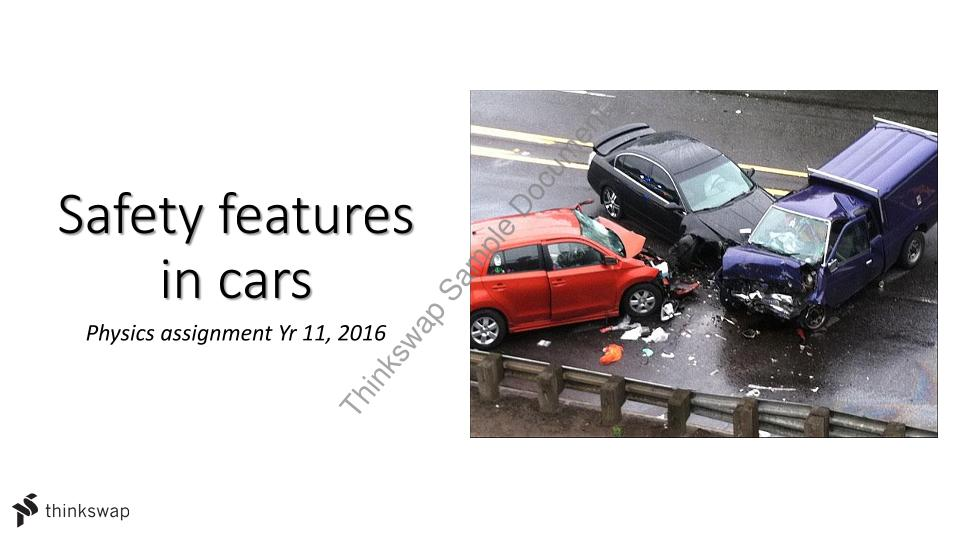 safety features in cars essay The edmundscom car safety guide features articles on car safety features and technology, safe driving tips, child safety and car seats, teen driving, and.