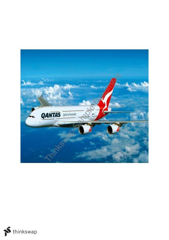 Marketing  A case Study on Qantas Airline Business Qantas Case Study    A Critical Analysis of Qantas Airways Limited