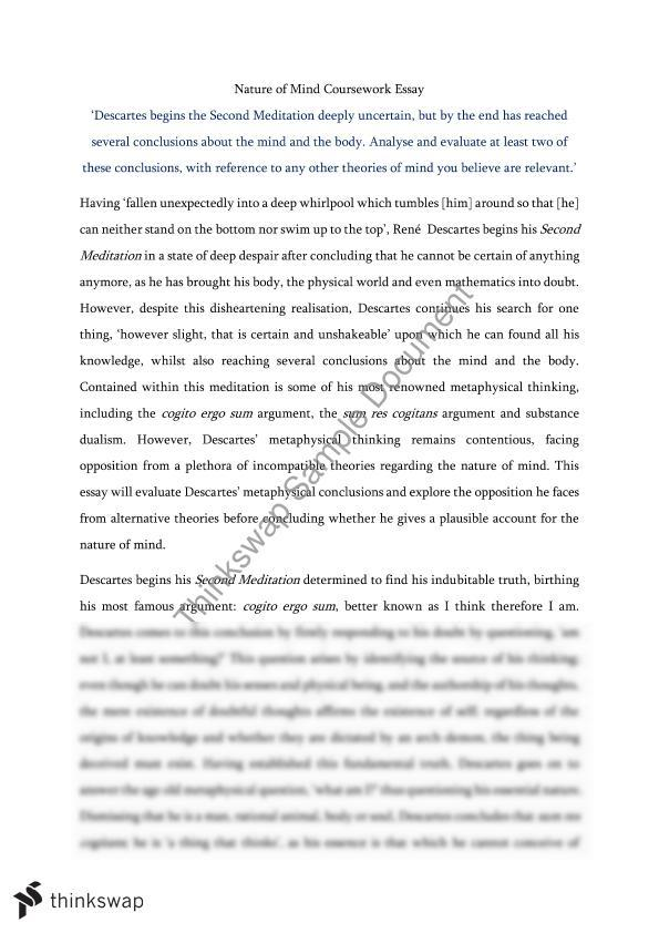 Values And Beliefs Essay Essay On Metaphysics The Nature Of Mind Halloween Essay Topics also Essay Writing For Elementary Students Essay On Metaphysics The Nature Of Mind  Year  Vce  Philosophy  Any Topic Essay