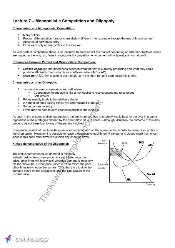 fybms business economics notes pdf