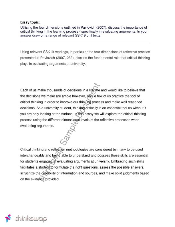 what is reflective essay k 12