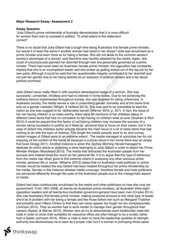 Gymnastics research paper