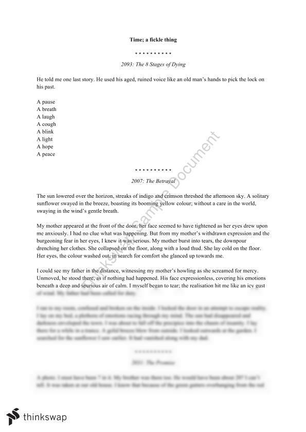 Creative writing journeys essay