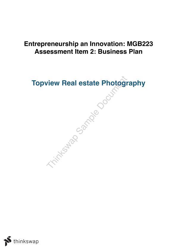 mgb223 business plan