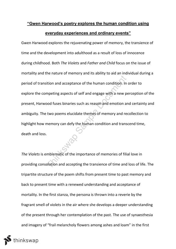 gwen harwood essay year hsc english advanced thinkswap gwen harwood essay