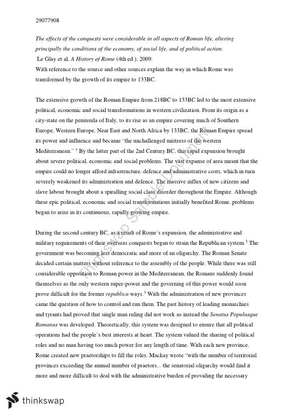 r empire essay expansion of the r empire essay year 11 hsc ancient