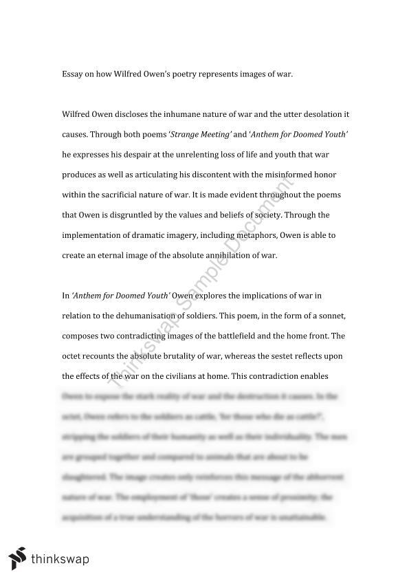 meeting essay