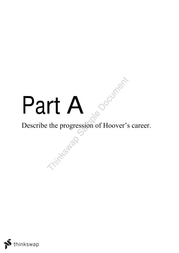 j edgar hoover personality study year hsc modern history  j edgar hoover personality study