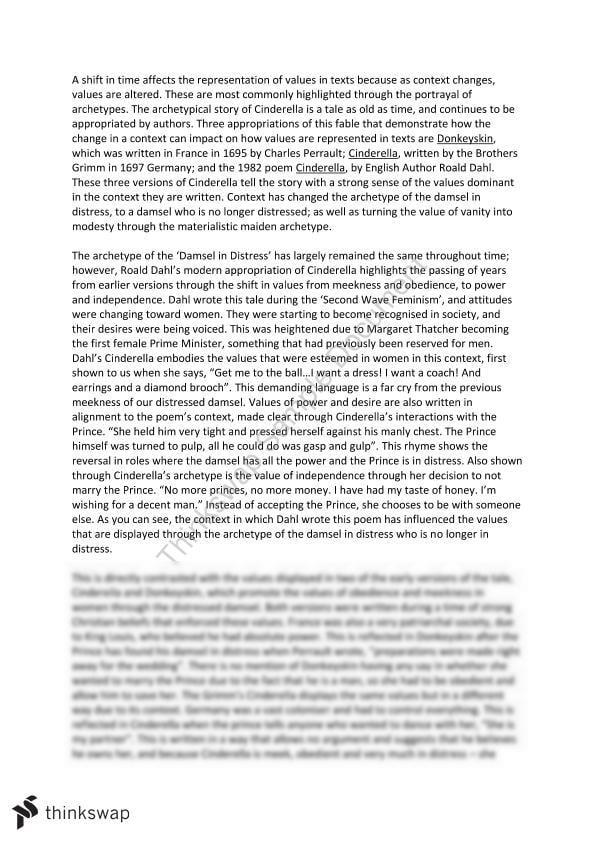 Archetype essay