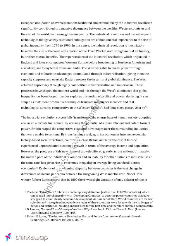 Social inequality essay