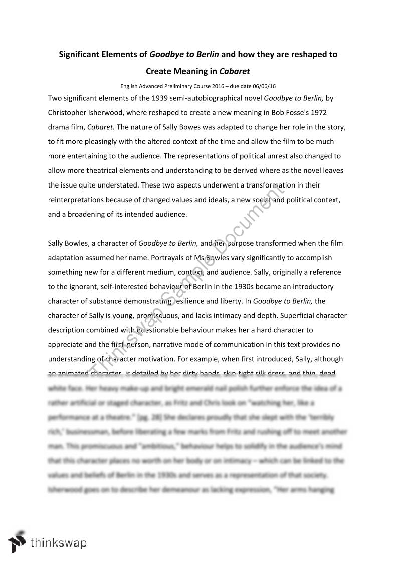 context and meaning essay What does 'in this context' mean  of a word (2) to let the context make the meaning clear articulate is commonly used as an adjective and as a verb.