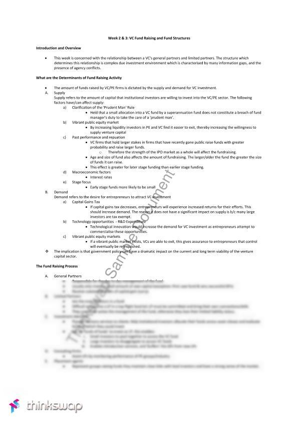 FINS3623 Study Notes