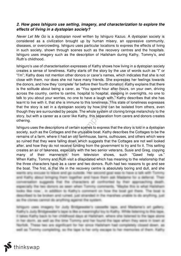 A single shard essay