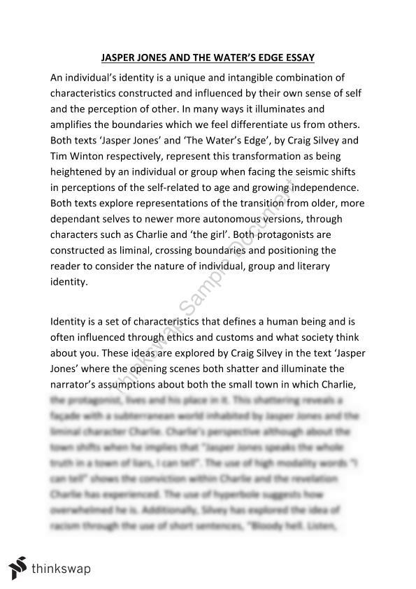 Essay about self identity