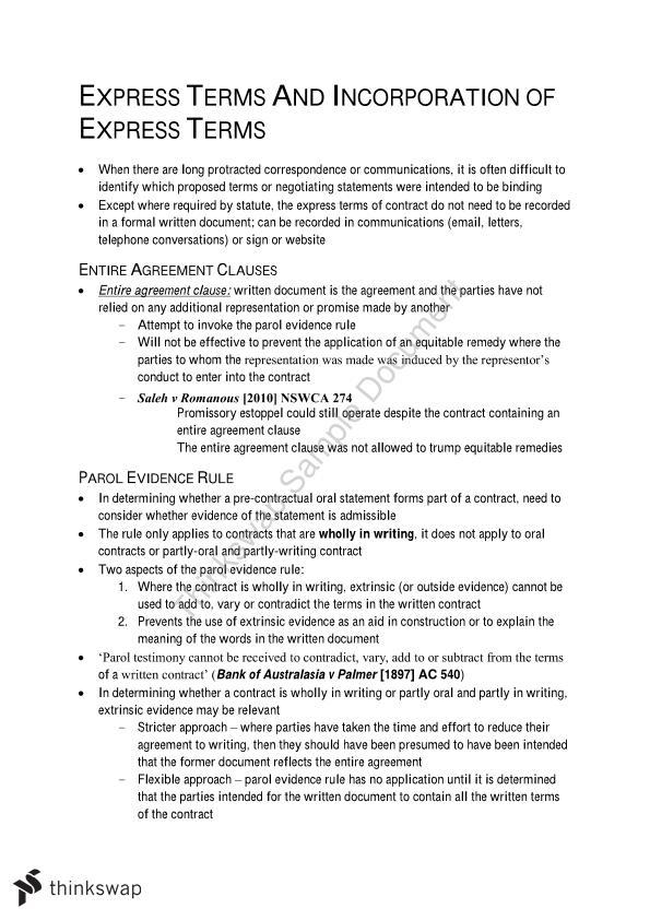 Parol Agreement Choice Image Agreement Letter Format