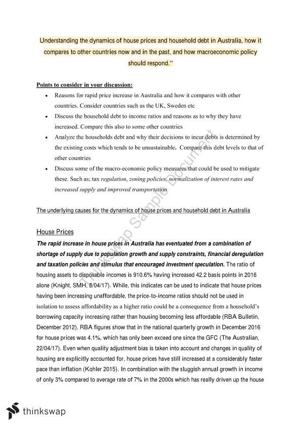 econ1002 macroeconomics structured essay
