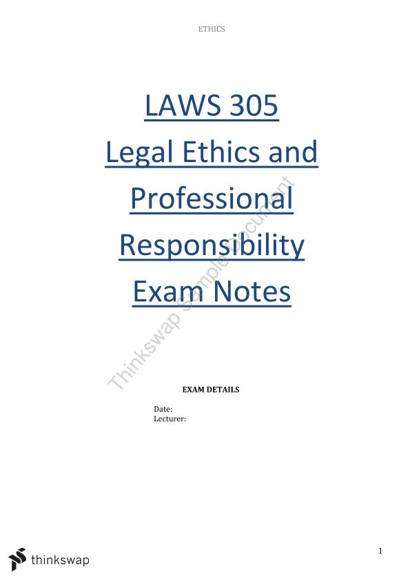 Complete set of comprehensive exam notes