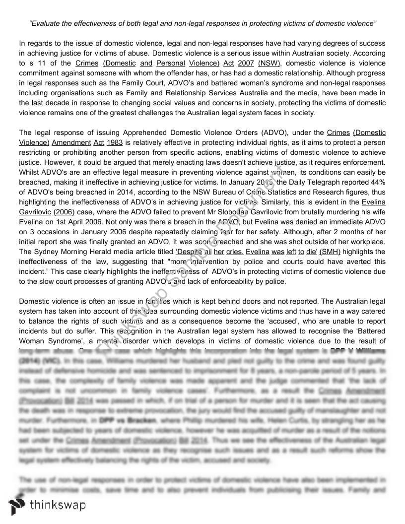 Legal essays hsc 9v4f
