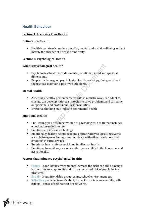 hbs110 health behaviour textbook pdf