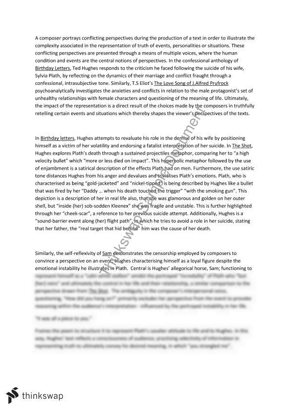 What Is A Explanatory Essay Conflicting Perspectives Essay Water Pollution Causes And Effects Essay also Essay For Books Conflicting Perspectives Essay  Year  Hsc  English Advanced  Essay On Christianity