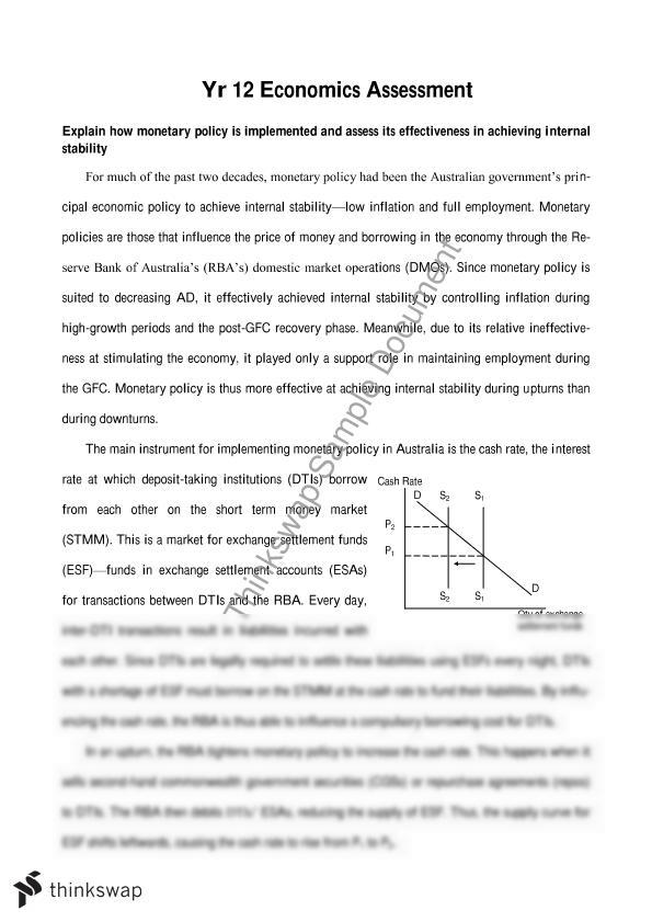 monetary policy essay hsc Monetary policy essay she watched as an essay discuss how monetary policy 1 and monetary policy mere bachpan ke din essay college essay hsc singapore from.