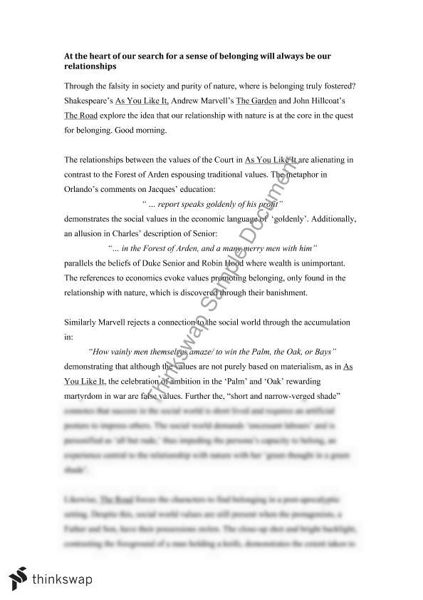 as you like it essay advanced english essay Sample essay about life by lauren bradshaw tags: english essays, essay about life, personal essay, philosophy essays ← 5-paragraph essay property in dubai.