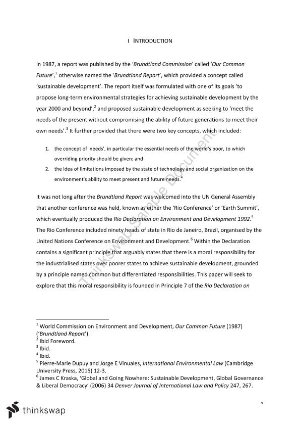 Application essay international business