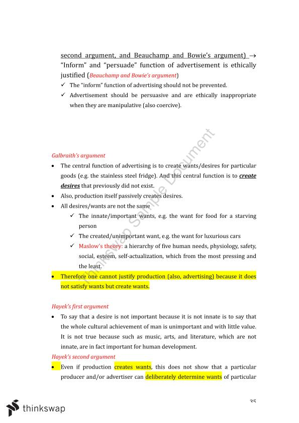 Management Ethics and Corporate Governance Revision - Page 35