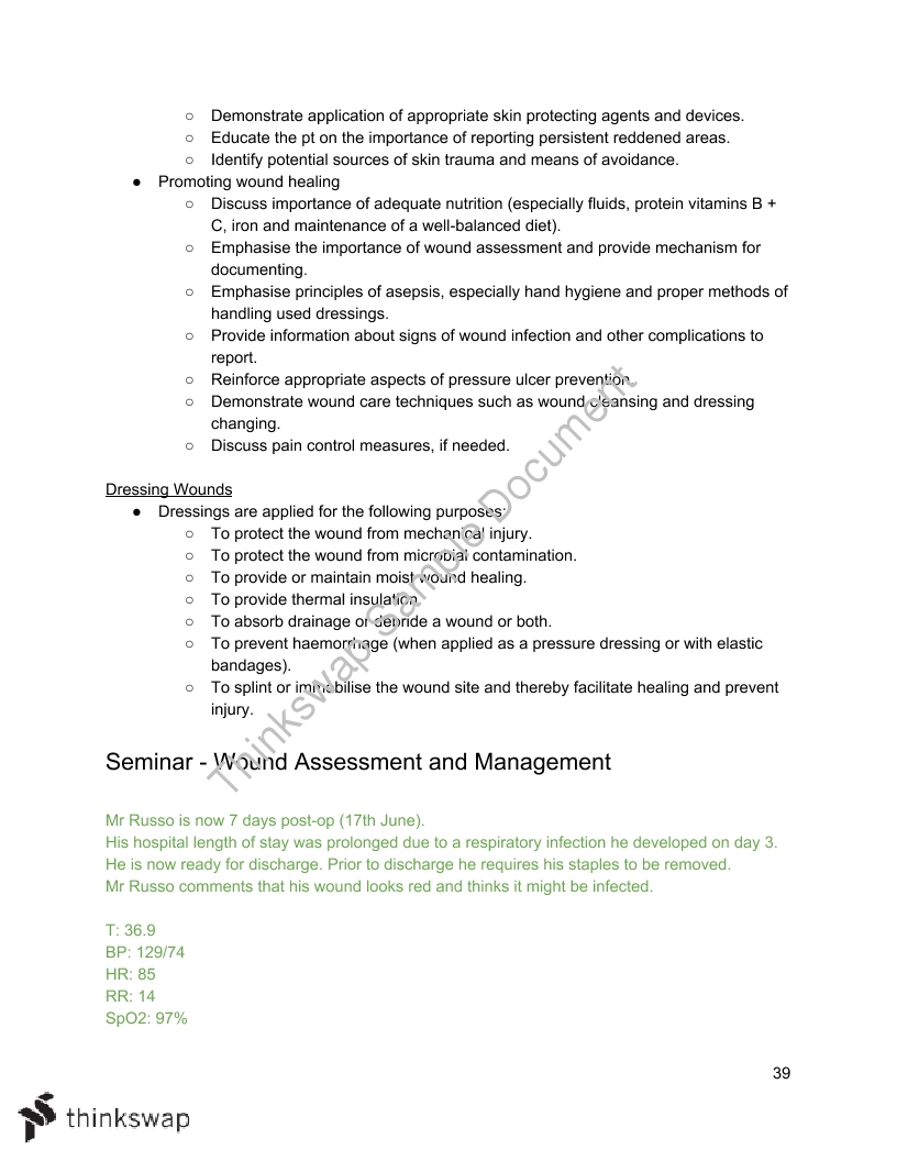 Nursing Practice 2 Notes