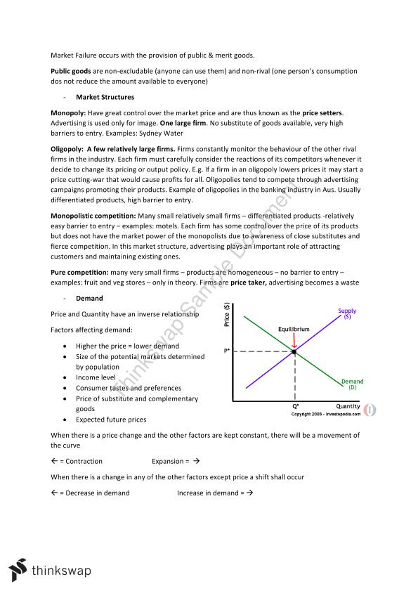 Full Prelim Economics Notes