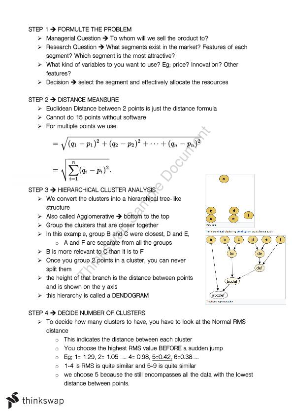 mark3054 notes Here is the best resource for homework help with mark 3054 : market analysis  at university of new south wales find mark3054 study guides, notes, and.