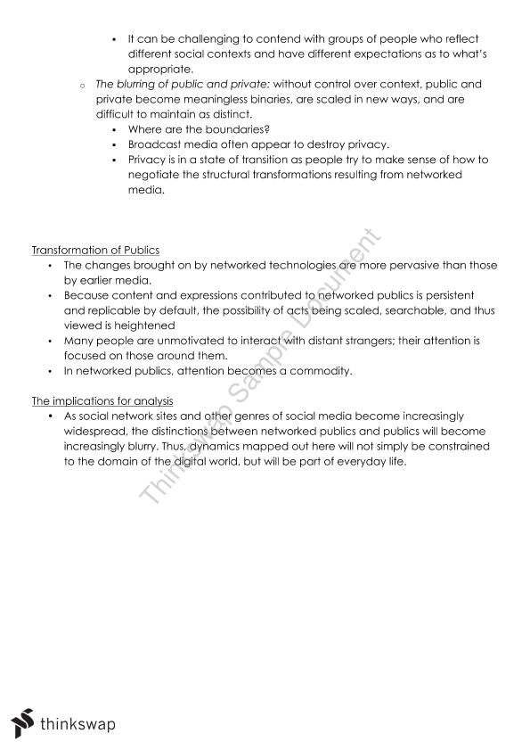 ARTS1090 Course Notes - Page 28