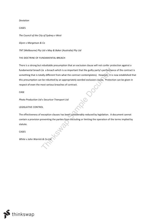 Contract Law Exam Notes - Page 19