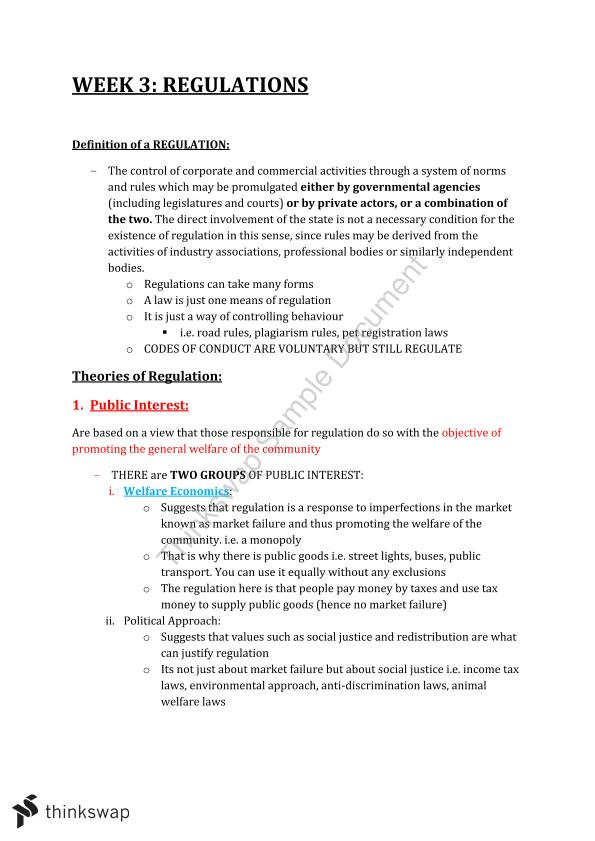 BSB111 Mid Semester Exam Notes