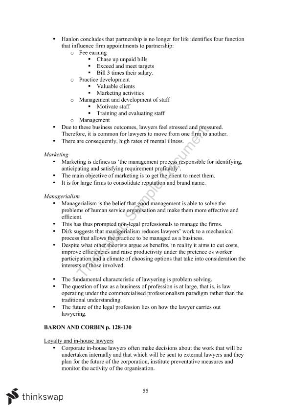Ethics, Law and Justice Full Course Notes