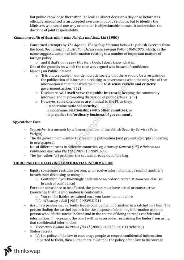 LW231 Equity Exam Notes