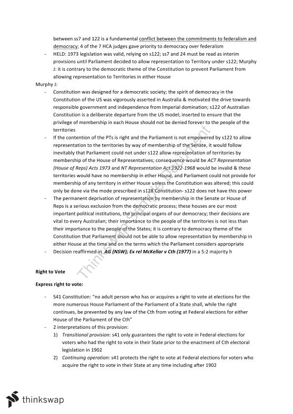 LAWS1021 USYD Full Notes