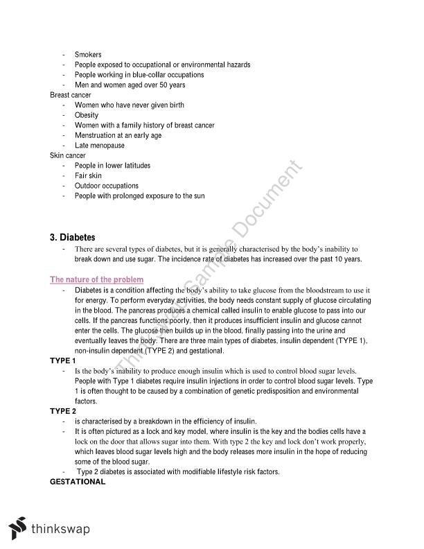 PDHPE Complete Core 1 and 2 Notes