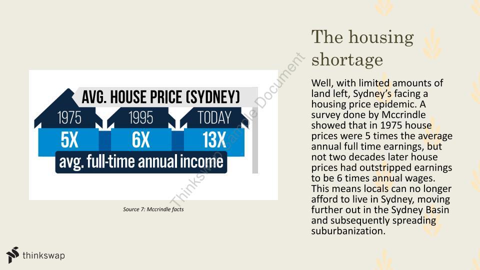 la suburbanisation case study